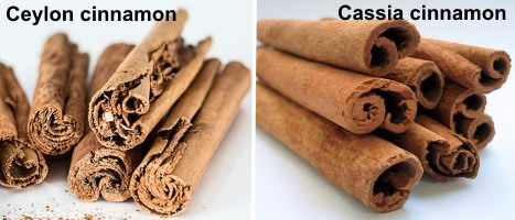 Difference Between the Cinnamon Types